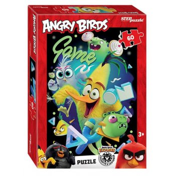 Пазл 60 angry birds (rovio)