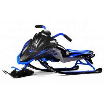 Детский снегокат yamaha apex snow bike (mg 2020 мягкое сиденье)) синий