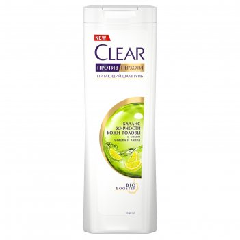 Шампунь для волос clear vita abe women «баланс жирности кожи головы» 200 м