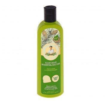 Шампунь для волос рецепты бабушки агафьи кедровый питание и укрепление, 28