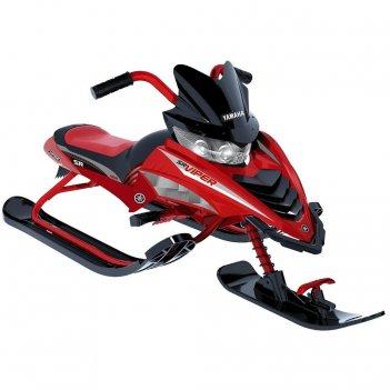 Ymc17001x снегокат yamaha viper snow bike красный