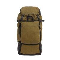 Рюкзак туристический на стяжке шнурком, 1 отдел, 3 наружных кармана, объём