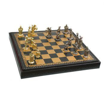 Шахматы-шашки «ландскнехты» 45х45см