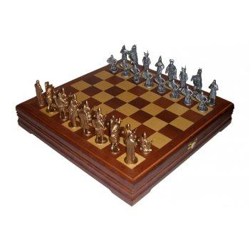 Rts-04.b шахматы исторические с тонированными фигурами