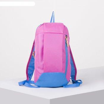 Рюкзак молод мини, 22*9*40, отд на молнии, н/карман, малиновый