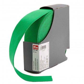 Эластичная лента-пояс 38мм*10м, цвет зеленый