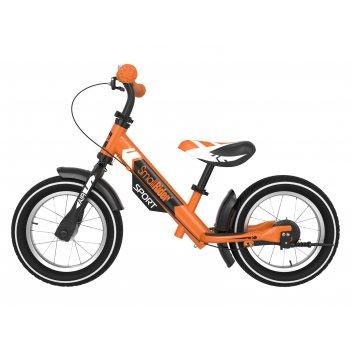 Беговел с 2 тормозами small rider roadster sport 4 air (оранжевый)