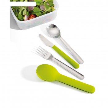 Набор столовых приборов joseph joseph goeat cutlery set, 4 предмета, зелён