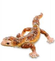 Шкатулка геккон