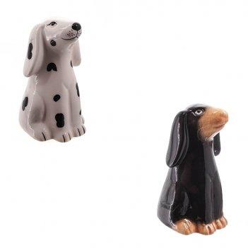 Фигурка декоративная собака, l6w4,5h7,5см, 2 в.