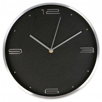 Часы настенные, серия: классика, марша, d=30 см