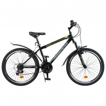 Велосипед 24 progress модель stoner rus, цвет серый, размер 15