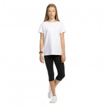 Брюки для девочек, рост 164 см, цвет чёрный