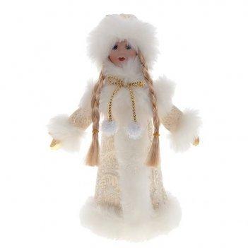 Кукла снегурочка, h38 см