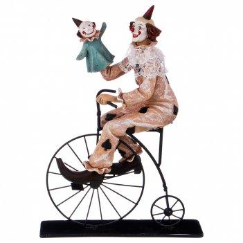 Фигурка клоун 21*8*31 см. коллекция буффонада (кор=6шт.)