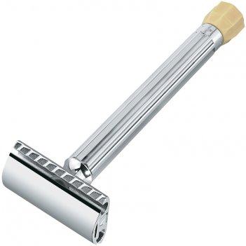 Станок т- образный для бритья merkur хромированный, с удлиненной ручкой и