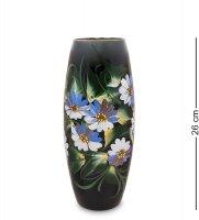 Vz-587 ваза стеклянная жостово h-260