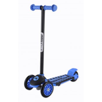 Трехколесный самокат small rider galaxy синий