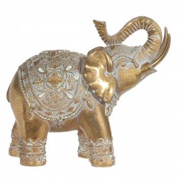 Фигурка декоративная слон, l15,5 w7 h14 см