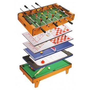Футбол + аэрохоккей + теннис + бильярд + шахматы + шашки + нарды + боулинг