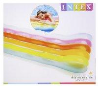 Шезлонг цветные волны, с подушкой 191x81 см