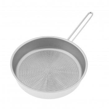 Сковорода-гриль 24 см гурман. классик, тройное дно