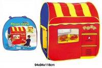 Палатка игровая двусторонняя почта и магазин, сумка