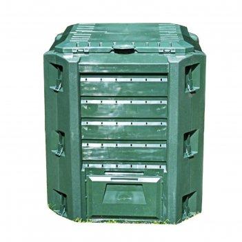 Компостер compogreen, 380 л , пластик, зелёный