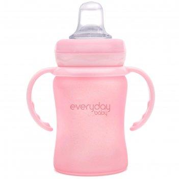 Бутылочка-поильник для кормления everyday baby, с мягким носиком, цвет све