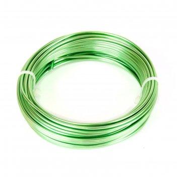 Проволока бонсайная, 2 мм x 10 м, зелёный