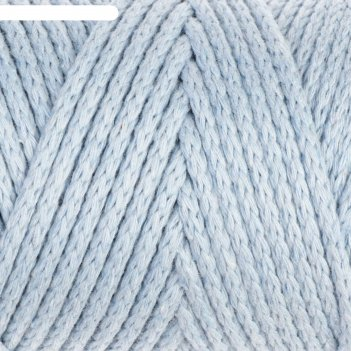 Шнур для вязания без сердечника 100% хлопок, ширина 3мм 100м/250гр (2106 г