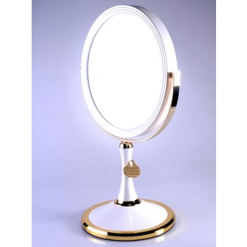Зеркало* b7207 per/g wpearl&gold настольное 2-стор. 7-кр.ув.18 с