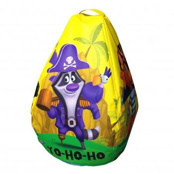 Мешок-рюкзак-подушка, спинка для тюбингов st4, small rider bags пираты (же