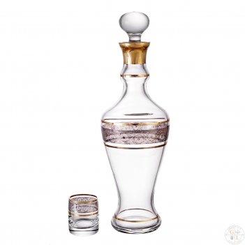 Набор для ликера bohemia панто идеал 7 предметов платина