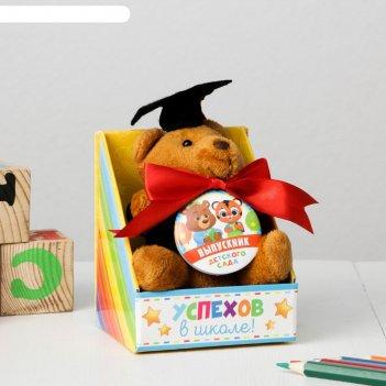 Подарочный набор игрушка + орден, зверодети, 8,4 х 10,1 см
