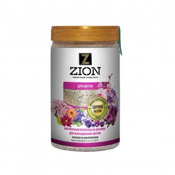 Ионитный субстрат zion для выращивания цветов, 700г.