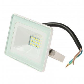 Прожектор светодиодный tdm народный сдо-04-010н, 10 вт, 6500 к, ip65, белы