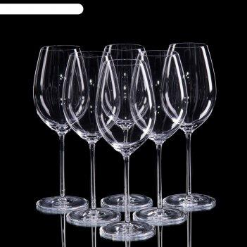 Набор бокалов для вина классик, 6 шт, 320 мл
