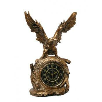 Скульптурные часы из полимерных смол восток к4535-1-1