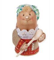 Кукла-шкатулка марфуша с ложкой