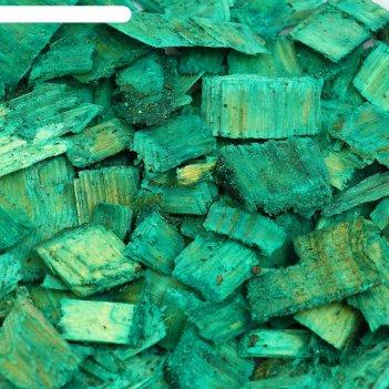 Щепа декоративная 60 л. зелёный