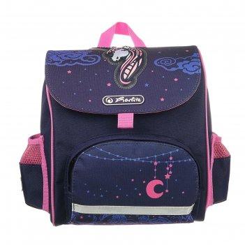 Ранец дошкольный herlitz mini softbag, 24 х 26 х 14, для мальчика, unicorn