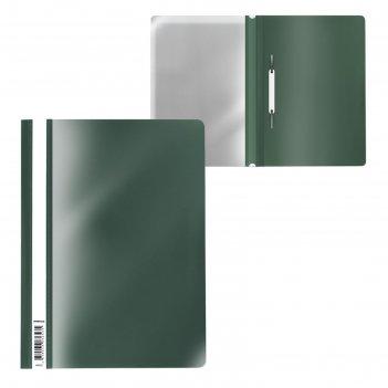 Папка-скоросшиватель a4 erichkrause fizzy classic зеленая 50005