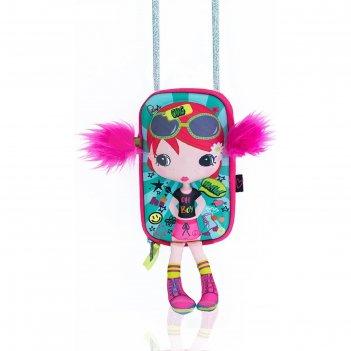 Сумочка-куколка «модница»