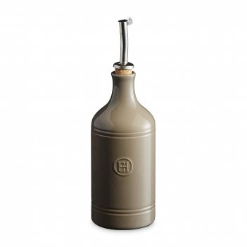 Бутылка для масла и уксуса, объем: 450 мл, материал: керамика, цвет: флинт