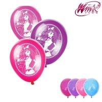 Воздушные шары winx, феи винкс: блум, набор 25 шт., 12 дюймов, микс