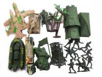 Набор военный, солдаты, техника, пакет.