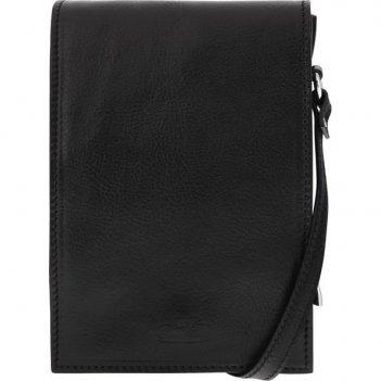 сумка мужская черная 15*21*8 gran carro 10490-3