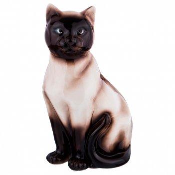 Декоративное изделие сиамская кошка 17*13см. высота=33см.