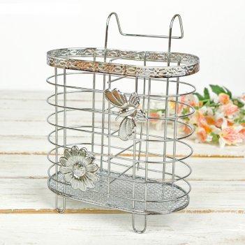 Сушилка для столовых приборов подвесная на ножках бабочки